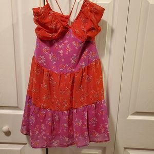 NWT BCBGeneration paprika boho dress